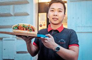 Rychlé občerstvení zdravěji: Vyzkoušejte měkkou vietnamskou bagetu bánh mi se zeleninou a bylinami
