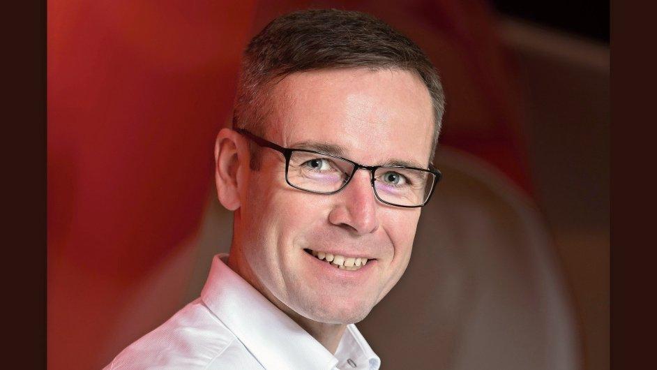 Jiří Báča, generální ředitel operátora Vodafone ČR