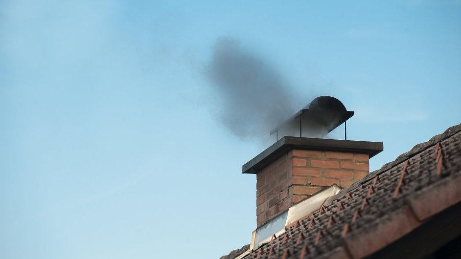 uhlí, topení, komín, energie, spotřeba, spalování