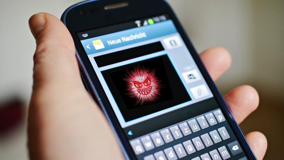 Mobilní malware, ilustrace