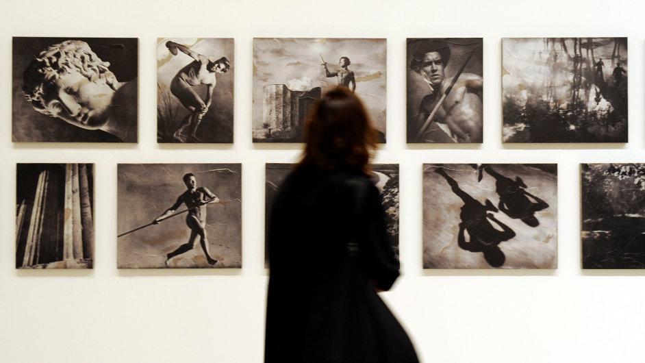 Snímek z letošní přehlídky umění Documenta v řeckých Aténách.