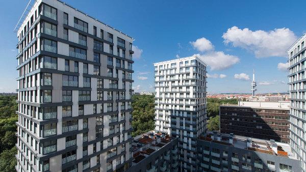 VResidenci Garden Towers, kterou developer Central Group postavil napražském Žižkově, je podle odhadu firmy asi čtvrtina zcelkem 700 bytů kupována nainvestici.