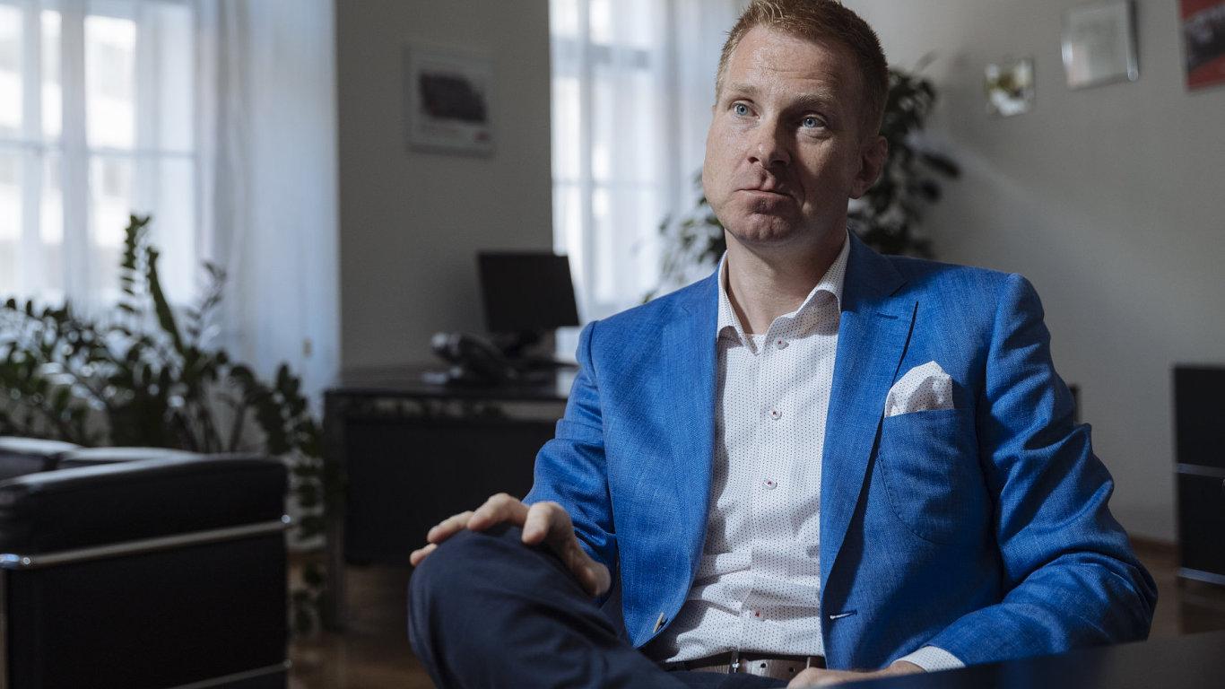 Předseda představenstva českého E.ON Martin Záklasník