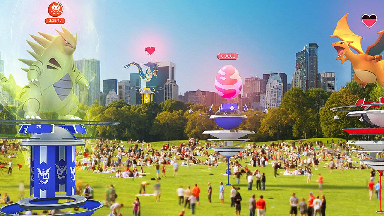 Pokémon Go přidalo nové aktivity včetně bojů proti speciálním pokémonům ve více lidech