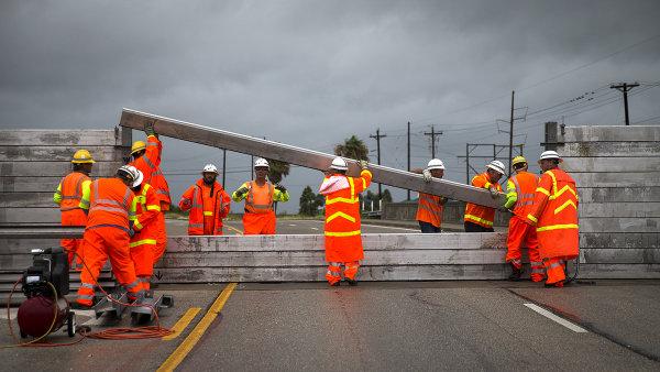 Spojené státy zasáhly v minulých týdnech silné hurikány - Ilustrační foto.