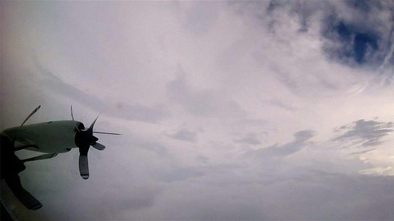 Lovci hurikánu vletěli s letadlem do oka Irmy