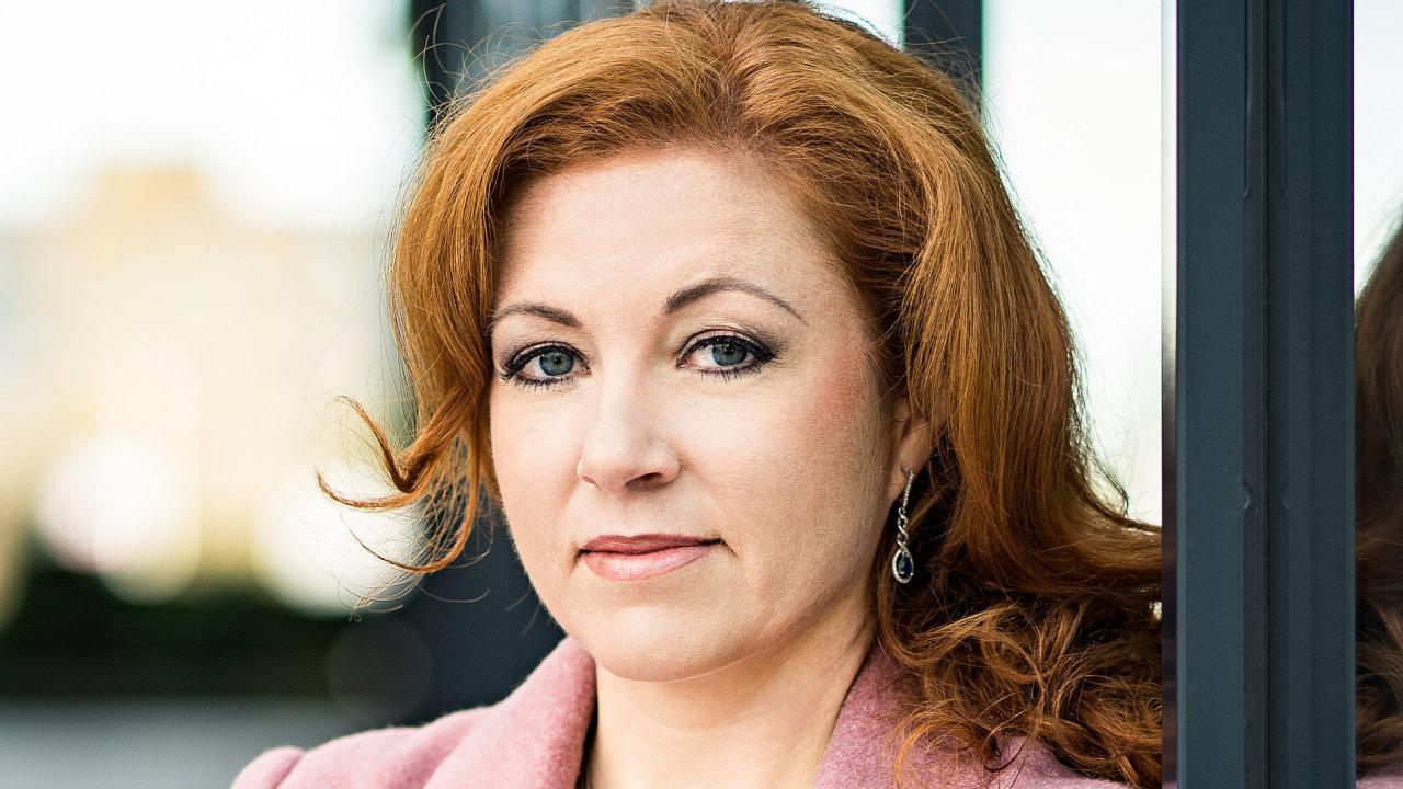 Daniela Velíšková, ředitelka lidských zdrojů společnosti Bisnode pro Českou republiku a Slovensko