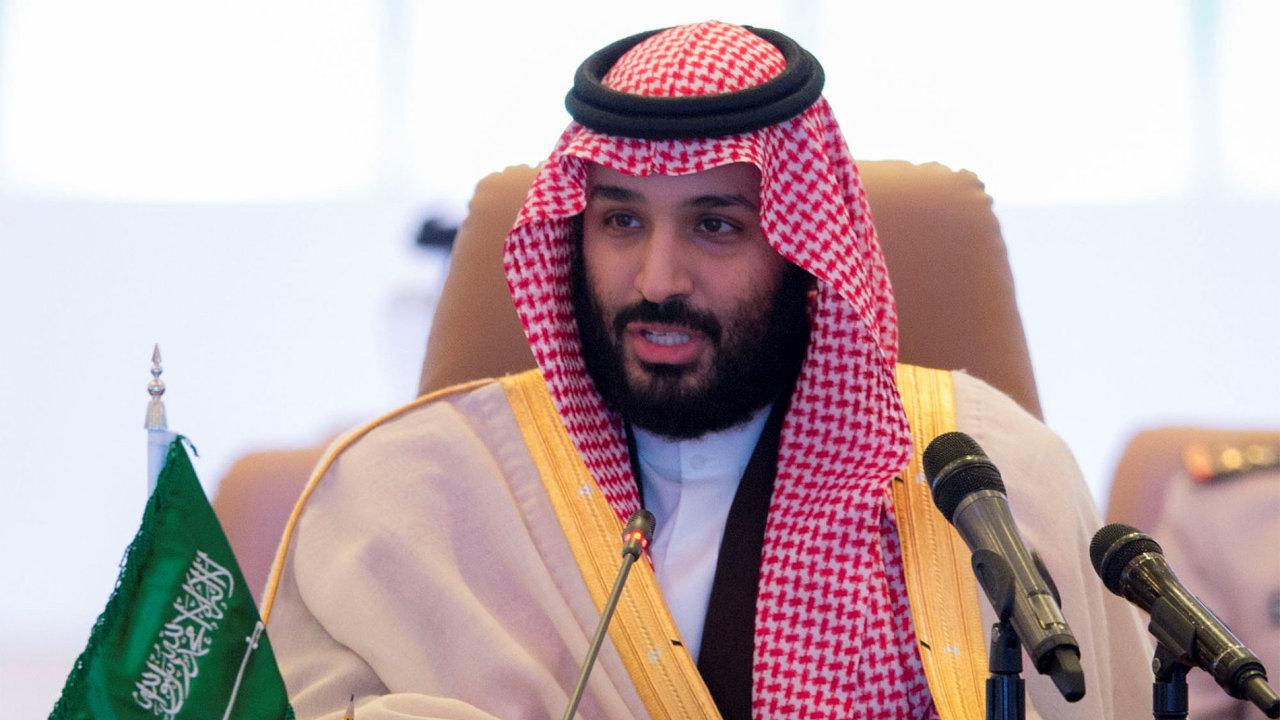Mohammed bin Salman - princ Saúdská Arábie.