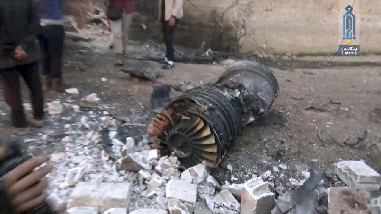 sýrie su-25 rebelové