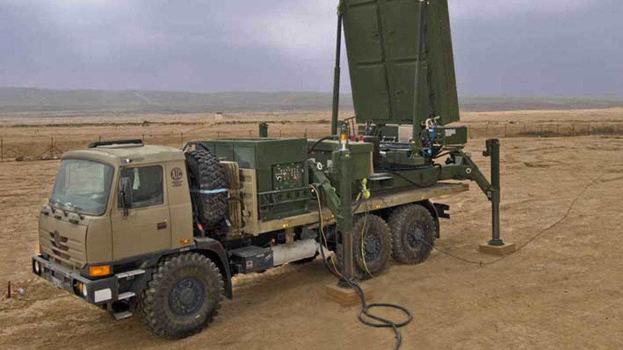 Štít proti raketám zGazy: radary ELM 2084 jsou součástí izraelského protiraketového systému Iron Dome. Ten pomáhá bránit izraelská města před raketami palestinských radikálů.