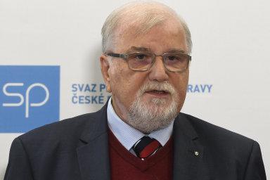 Jaroslav Hanák obhájil podruhé funkci prezidenta Svazu průmyslu a dopravy ČR 14. května 2019 v Praze.
