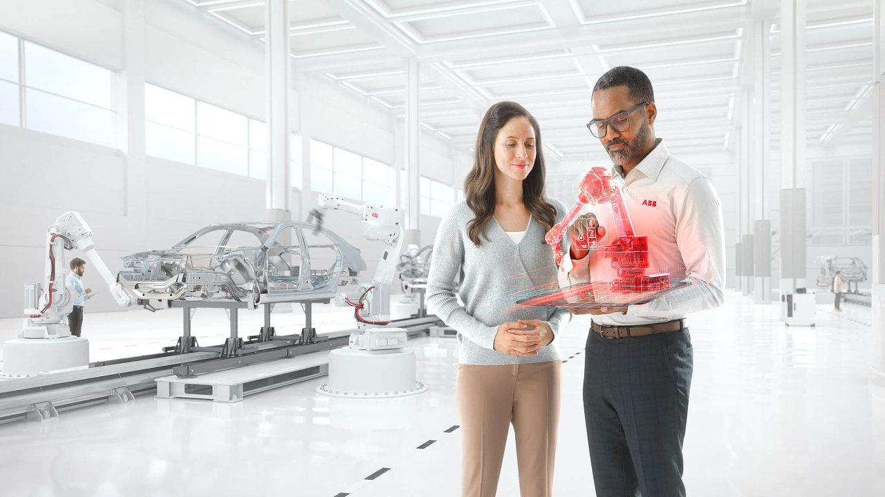 ABB představuje továrnu budoucnosti – ane příliš vzdálené.