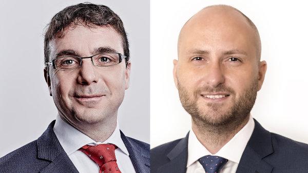 Radek Váňa a Michal Hrabovský, transakční tým advokátní kanceláře Eversheds Sutherland