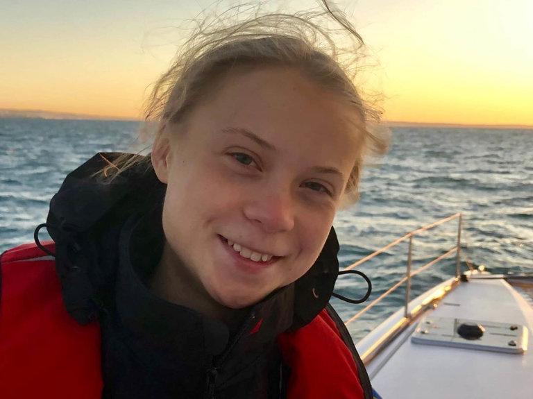 Švédská vítězkaGreta Thunbergová