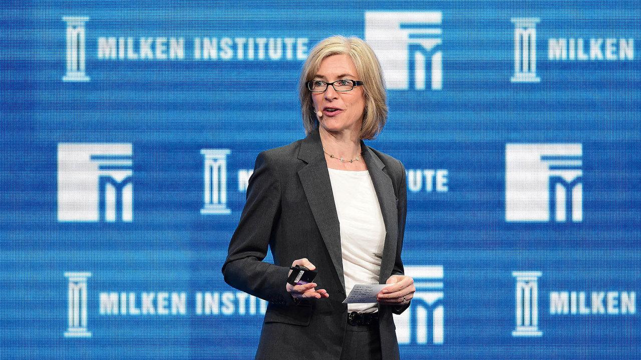 Vědkyně Jennifer Doudnaová působí na univerzitě vBerkeley