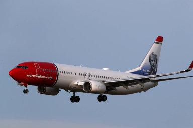 Letadlo společnosti Norwegian Air
