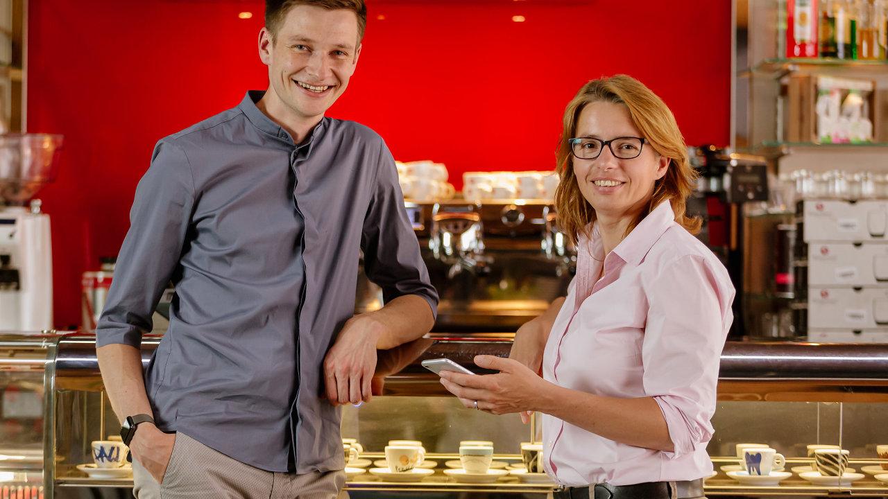 Karel Mařík a Jarmila Kowolowská jsou zakladatelé start-upu Grason.