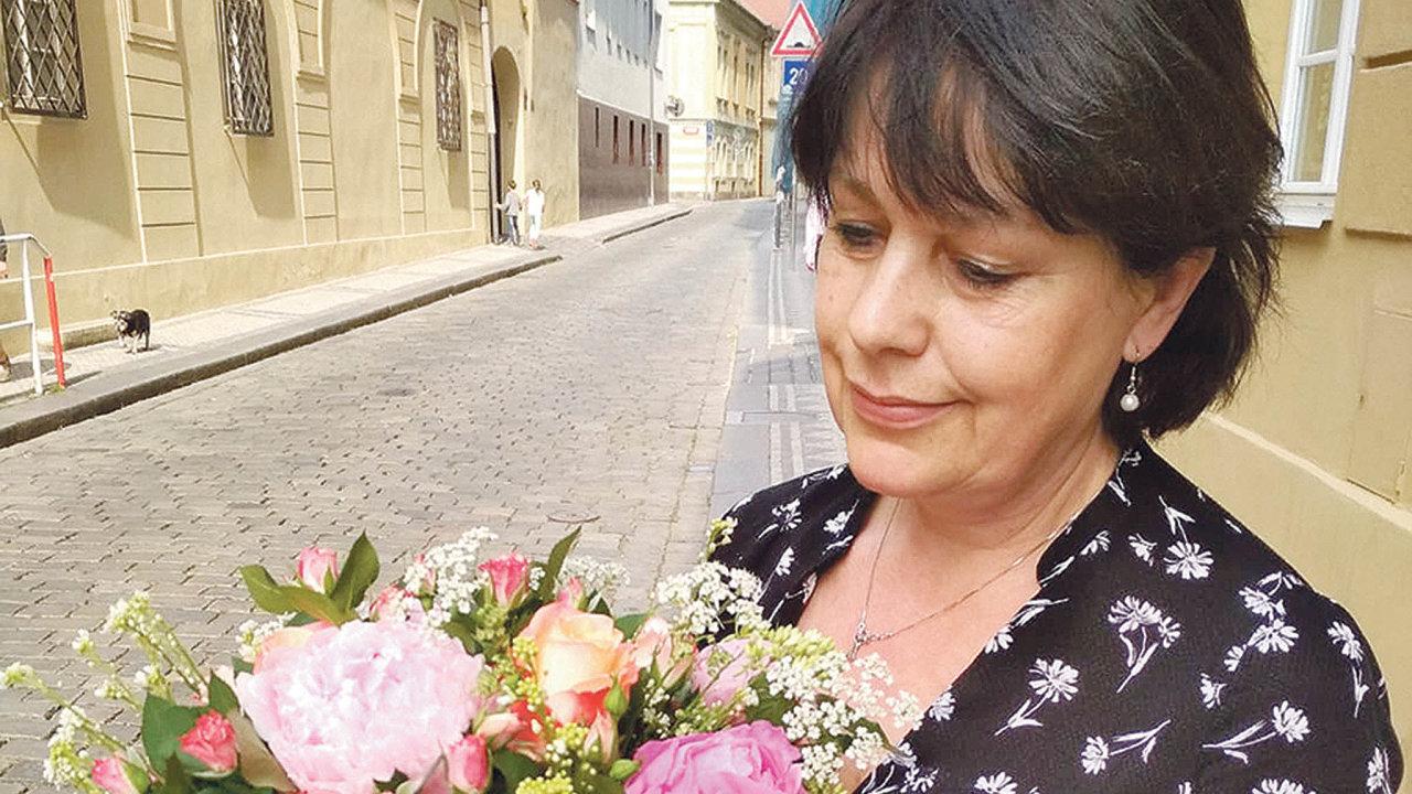 Květinářka Eliška Černá s podnikáním končí.