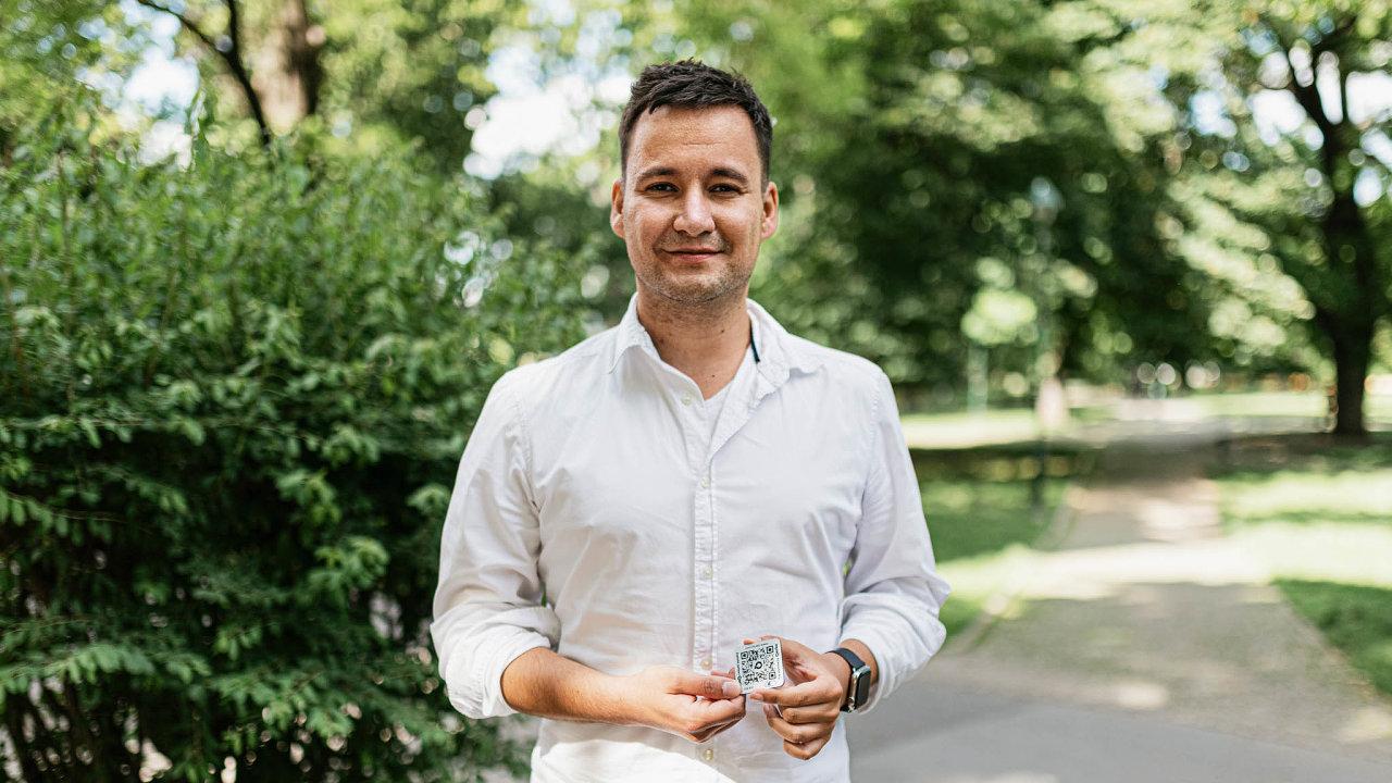Lukáš Kovač, zakladatel aCEO Qerko