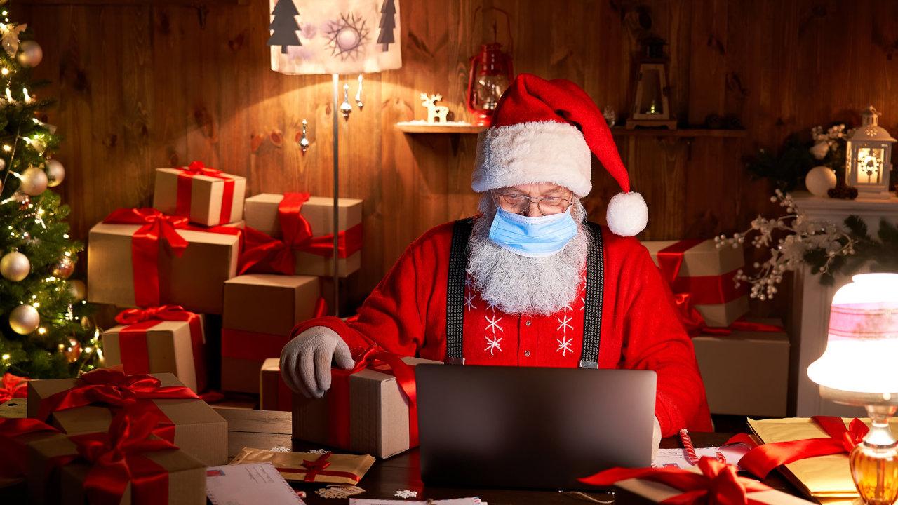 vánoce dárky nákup