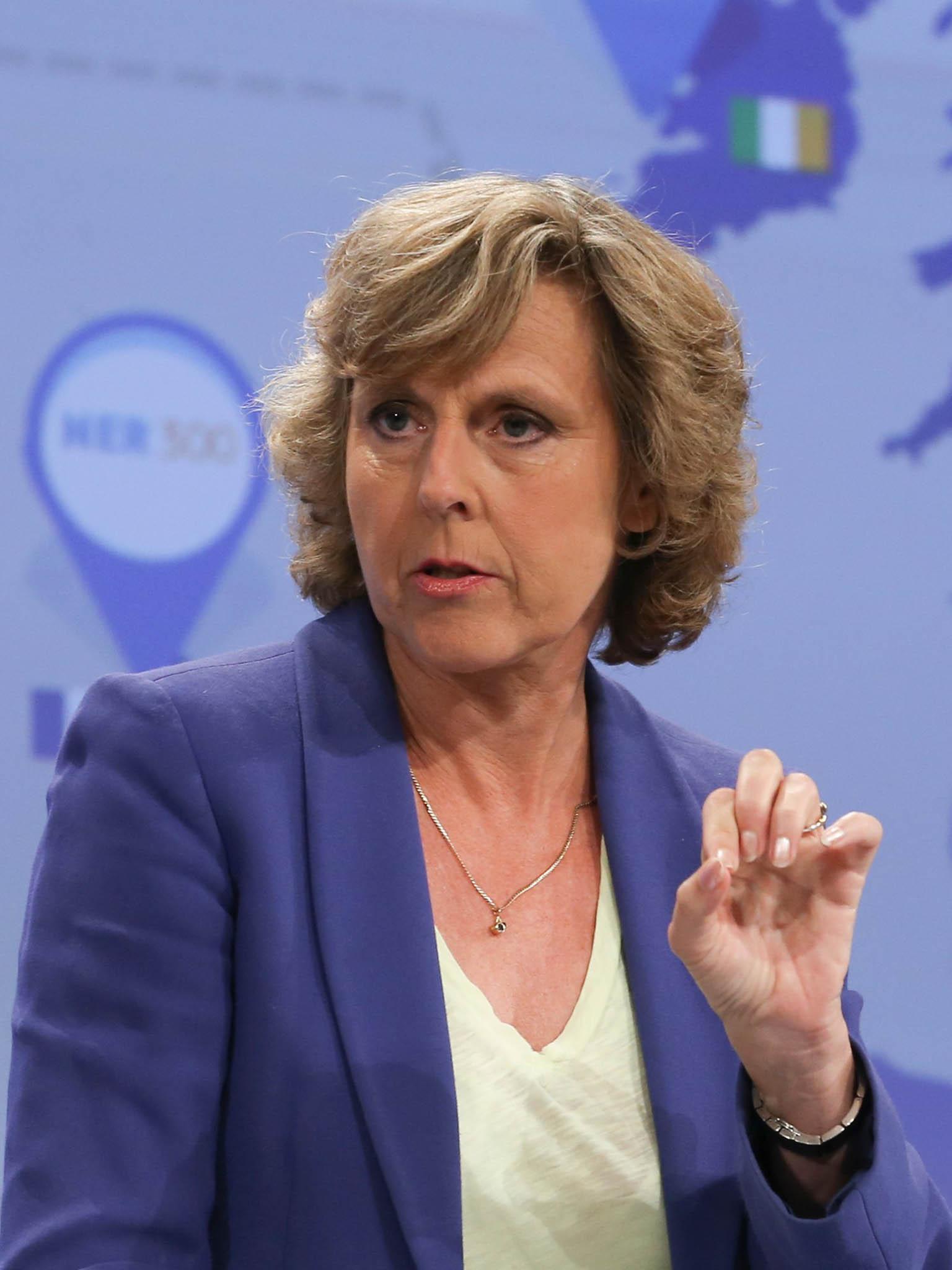 Connie Hedegaardová, dánská politička, někdejší eurokomisařka pro otázky klimatu
