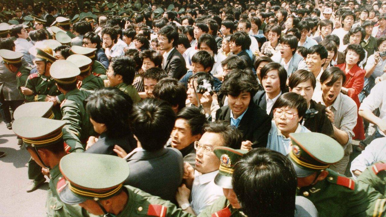 Masakr na náměstí Nebeského klidu, TIANANMEN,  Tchien-an-men
