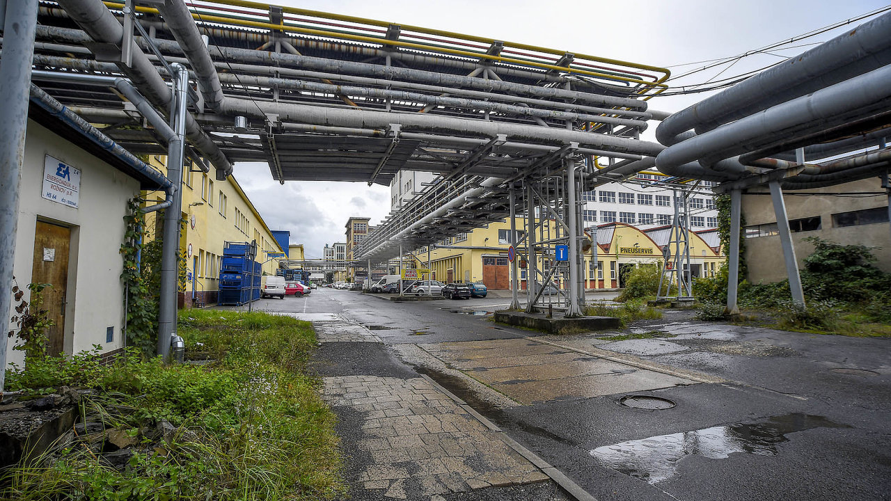 Rožnov pod Radhoštěm, průmyslový areál, Energoaqua