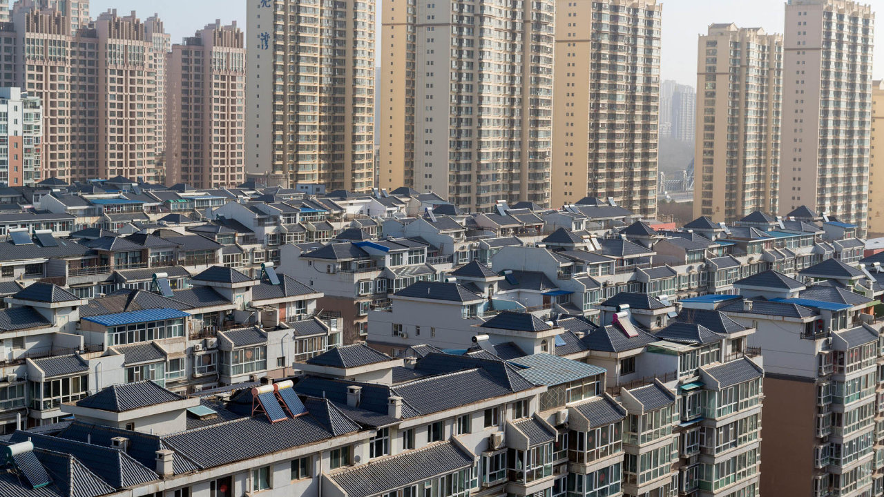 Čína, výstavba, sídliště