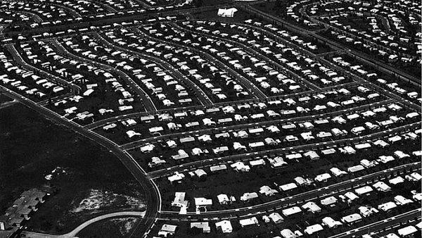 Město Levittown v americké Pennsylvánii
