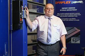 Ján Šamaj z firmy Efaflex