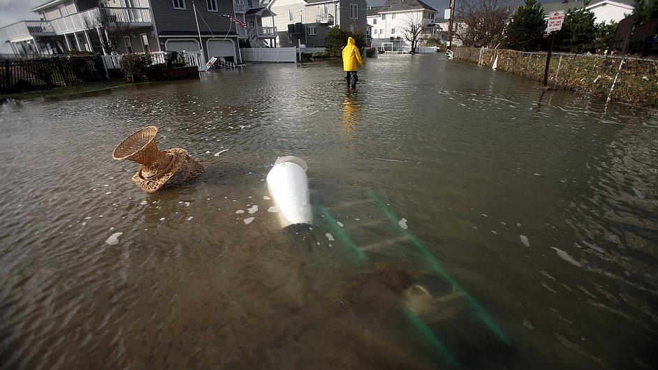 Sandy a voda v USA