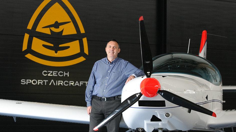 Vladimír Grunt, ředitel Czech Sport Aircraft (CSA)