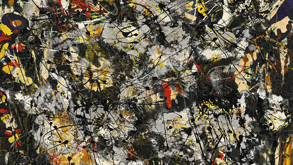 Obraz Jacksona Pollocka nazvaný Číslo 4 zlomil rekord.