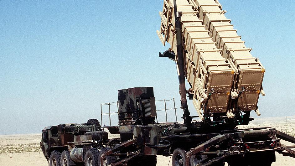 Systém Patriot při nasazení v Iráku