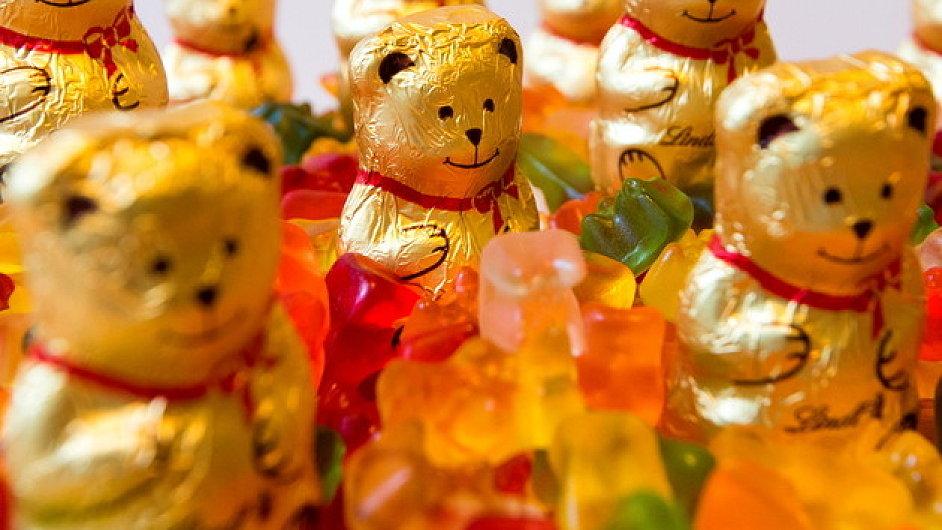 Souboj dvou medvědů vyhrál německý Haribo.