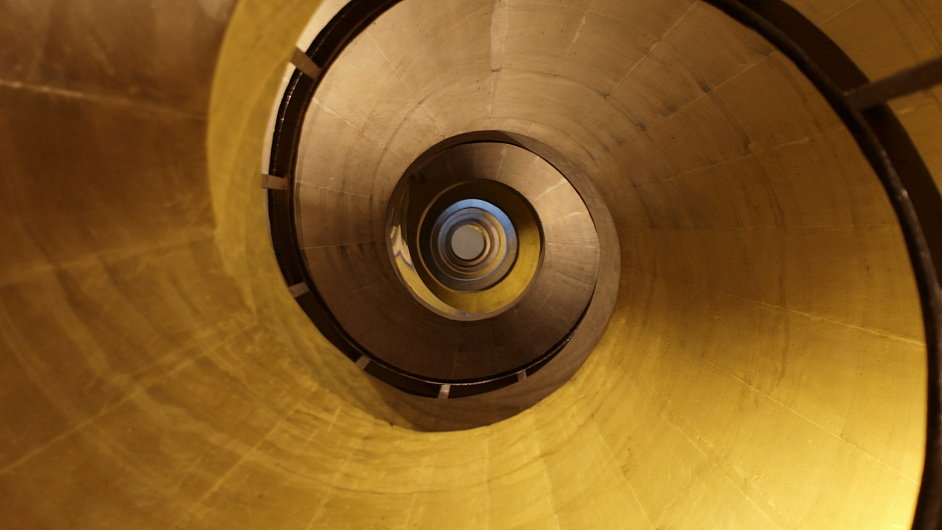 Sbírka chce vybrat peníze na opravu kopule Panthéonu (foceno zevnitř).