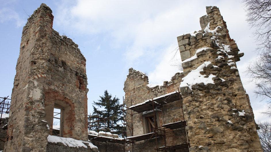 Hrad Cimburk najdete nedaleko Koryčan na Kroměřížsku.