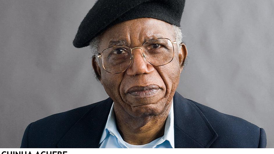Chinua Achebe (na obrázku) byl ze stejné generace jako nigerijský básník Christopher Okigbo.