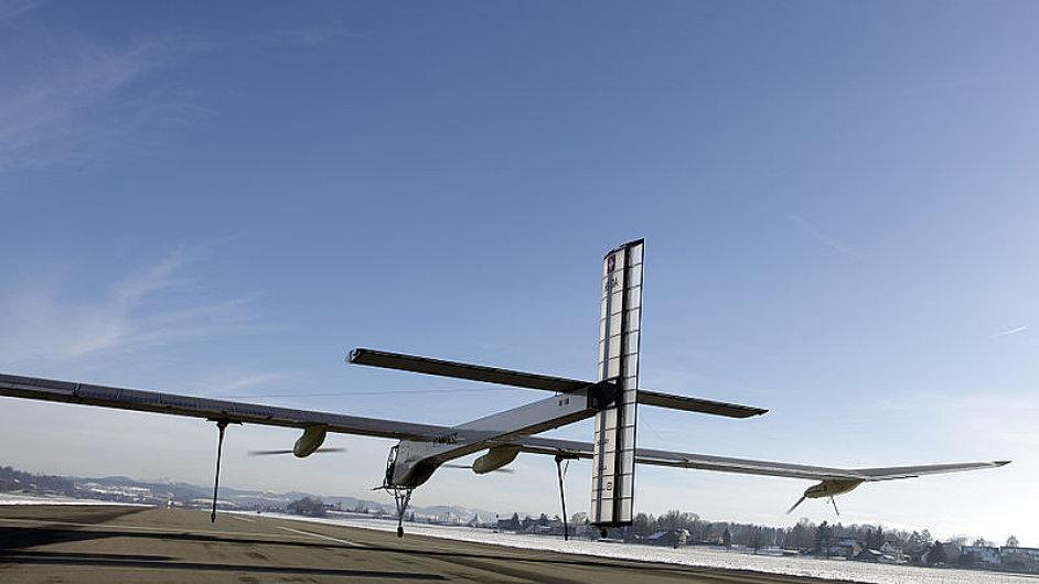 Letadlo HB-SIA poháněné na solární energii