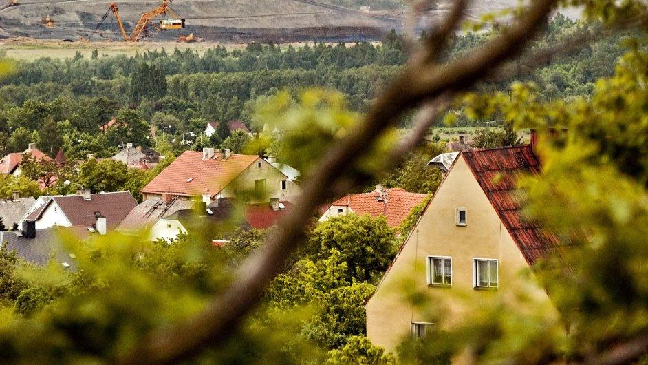 Ilustrační foto:Horní Jiřetín v severních Čechách.