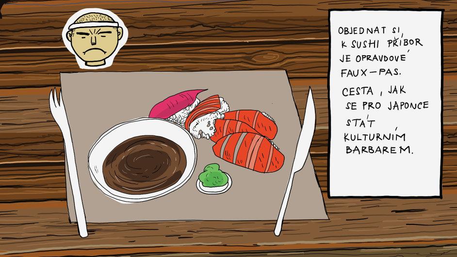 Jak jíst správně sushi
