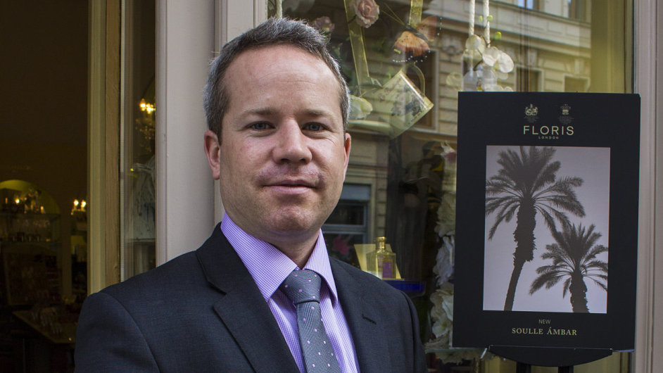 Obchodní ředitel firmy Floris Tom Marsch
