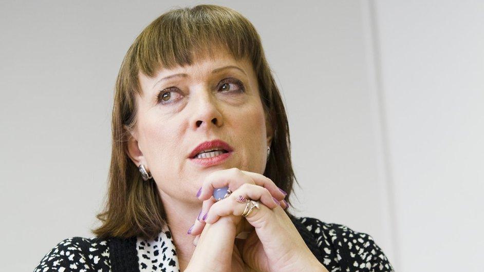 Předsedkyně ERÚ Alena Vitásková.