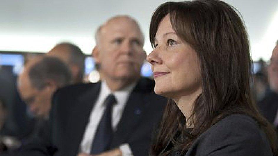 Do čela General Motors míří Mary Barra.
