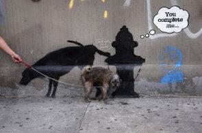 Banksy pobavil New York i celý svět. Prohlédněte si úsměvné momenty roku 2013