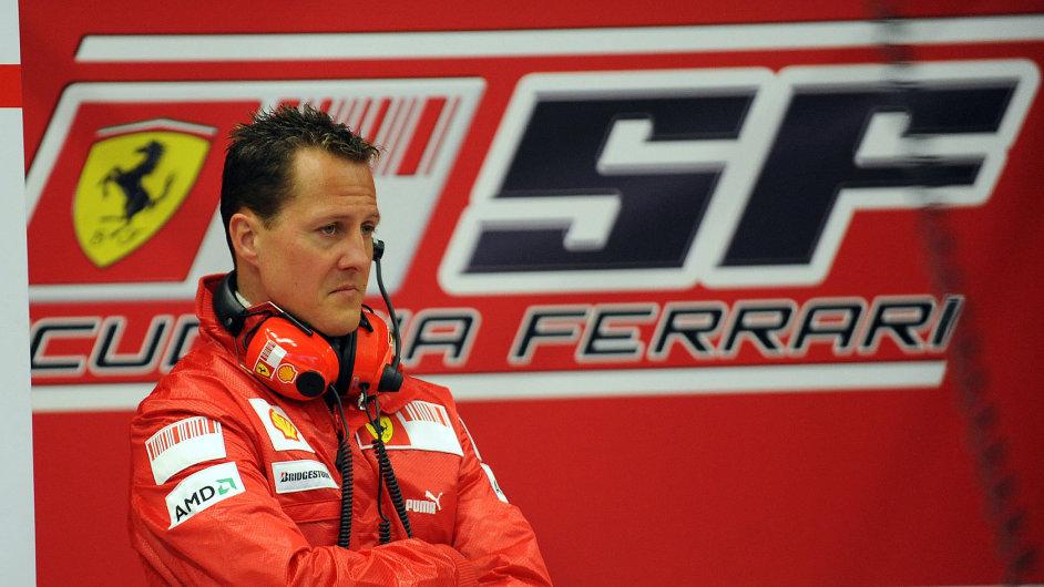 Michael Schumacher ještě jako jezdec Ferrari