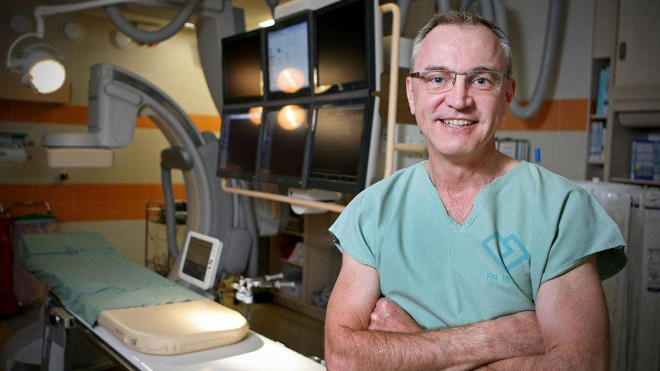 Kardiolog Josef Veselka
