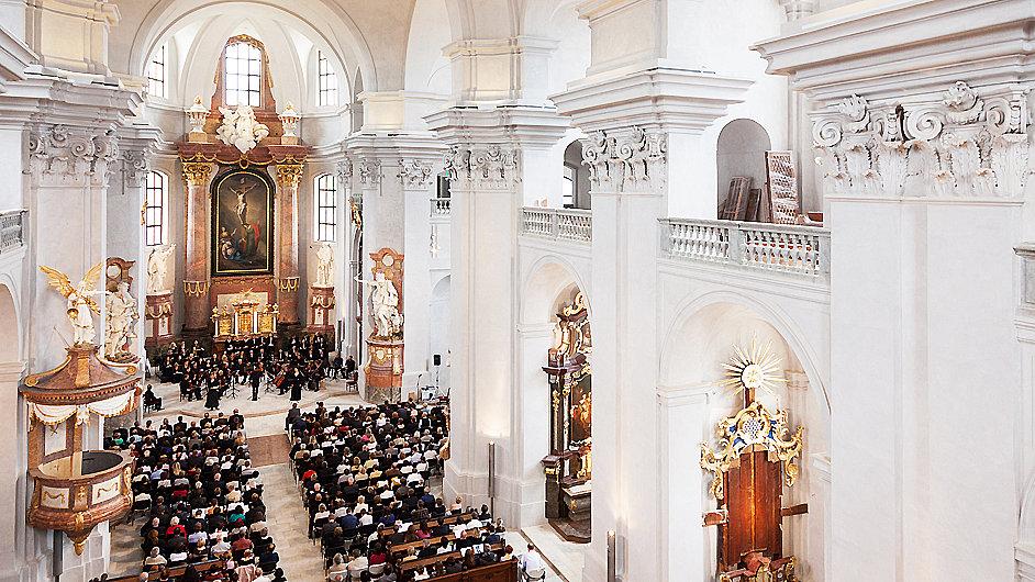 Händelovo oratorium Mesiáš bylo v Litomyšli uvedeno v opraveném barokním chrámu.