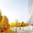 Novou budovu N�rodn�ho muzea um�n� v ��n� navrhl architekt Jean Nouvel.