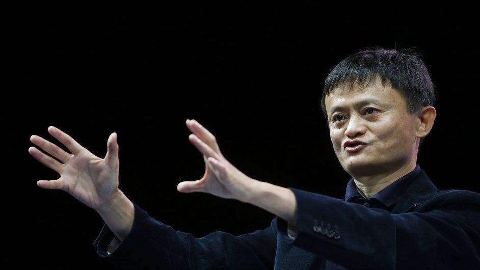 Jack Ma letos získal 25,1 miliardy dolarů
